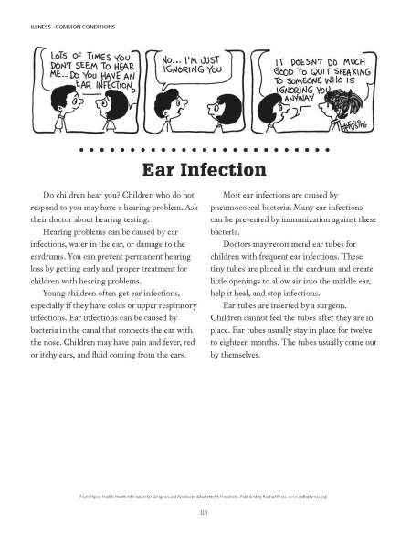 Ear infection info