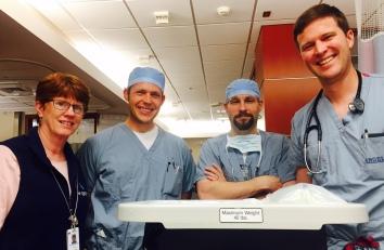 the surgery team